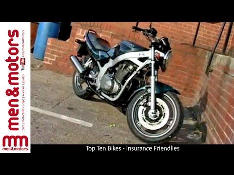 Top Ten Bikes - Insurance Friendlies