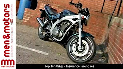Top Ten Bikes - Insurance Friendlies