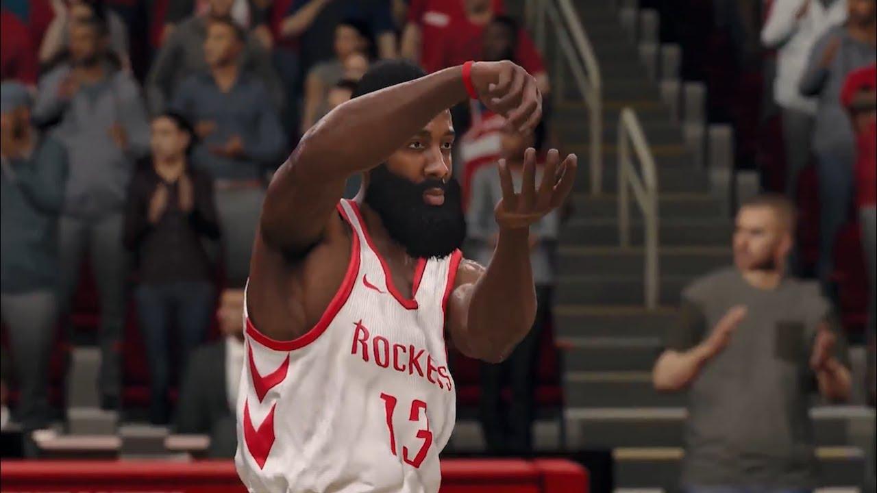 ed60bbea185 NBA Live 18 - Cover Athlete James Harden - YouTube