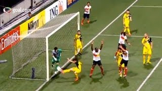 terrible defending from abdul hadee handball then own goal