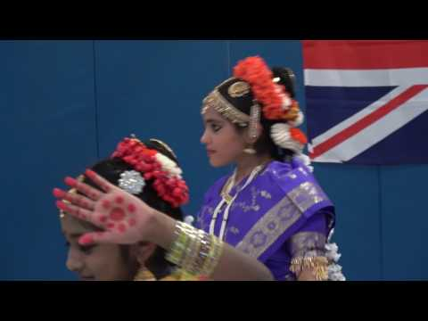 Kuchipudi Dance performance @ World tour event hosted by Meadowside school