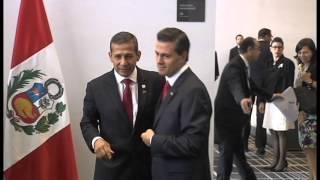 Presidente Ollanta Humala se reunió con mandatarios de la Alianza del Pacífico en Panamá