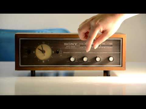 1970's Sears Clock Radio
