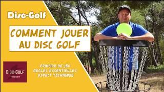 Comment jouer au Disc Golf
