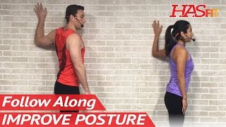 7 Min Posture Stretches to Improve Posture - Better Posture Workout - Posture Correction Exercises