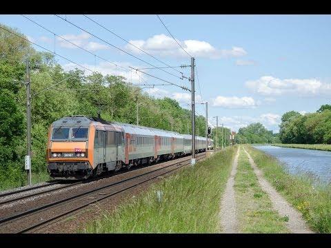 EN 452 Moskau - Paris in Steinbourg mit BB 26167