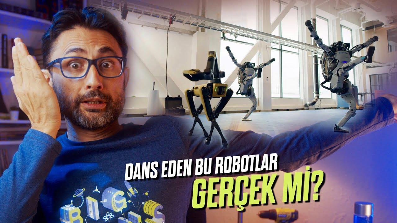 Dans eden bu robotlar GERÇEK Mİ?