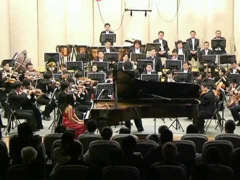 F. Liszt 1st Piano Concerto  in E Flat Major, 2nd Mov. Anny Hwang