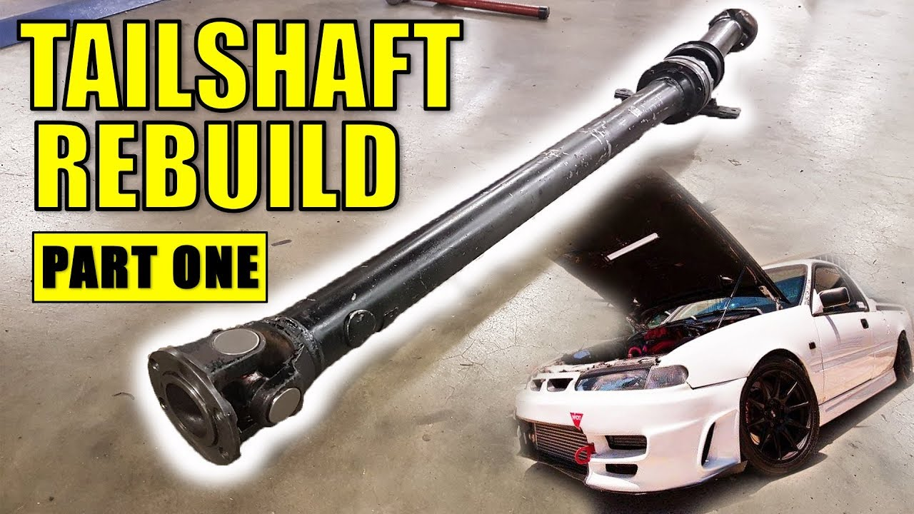HOW TO REBUILD YOUR TAILSHAFT    PROPERLY | UNI & CV JOINTS | PART 1