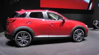 Salone di Ginevra 2015: Mazda CX-3