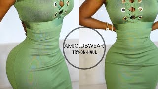MINI SLIM THICK TRY ON HAUL | AMICLUBWEAR