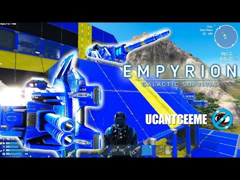 Empyrion Galactic Survival | WEAPONS UPGRADES | CV Capital Vessel DRILLS | Ep. 37