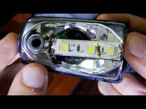 ✔ Hacer una direccional LED para moto 12 voltios