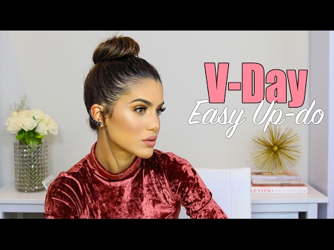 Easy Valentine's Day Updo thumbnail