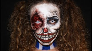 Evil Clown Makeup | Maquillaje Payaso Diabólico
