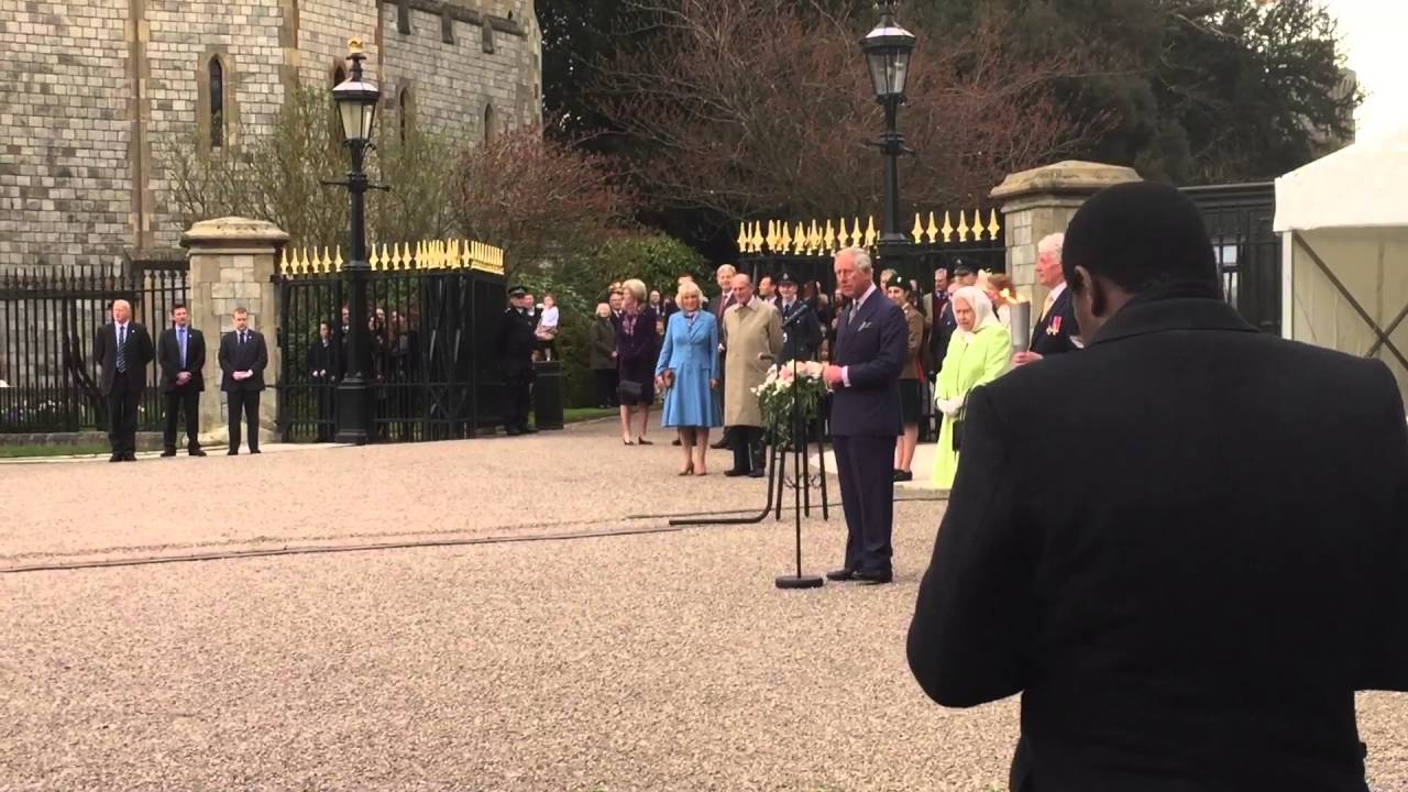 Queen At 90th Birthday Beacon