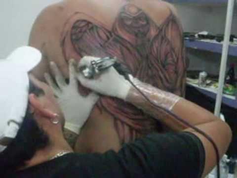 Tatuajes De La Santa Muerte Youtube