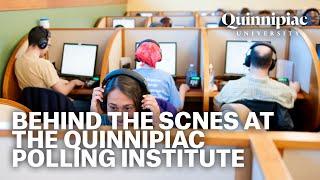 Behind the Scenes at the Quinnipiac University Polling Institute