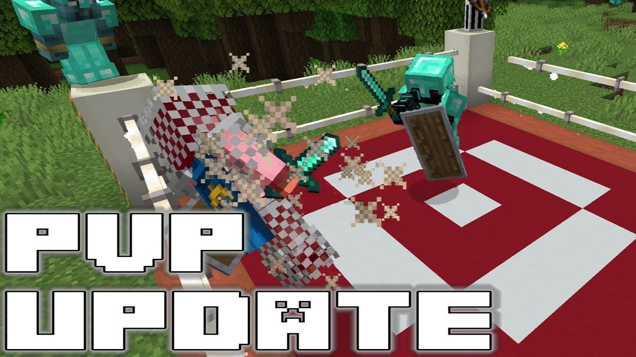 Minecraft PVP & Combat Update