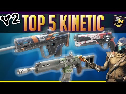 Destiny 2 | Top 5 Kinetic Primary Weapons (So Far)