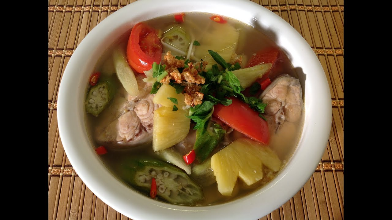 Canh chua ca how to make vietnamese sour fish soup for What is fish food made of