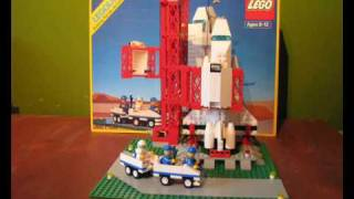 Reconstruction Lego Set 1682 Space Shuttle