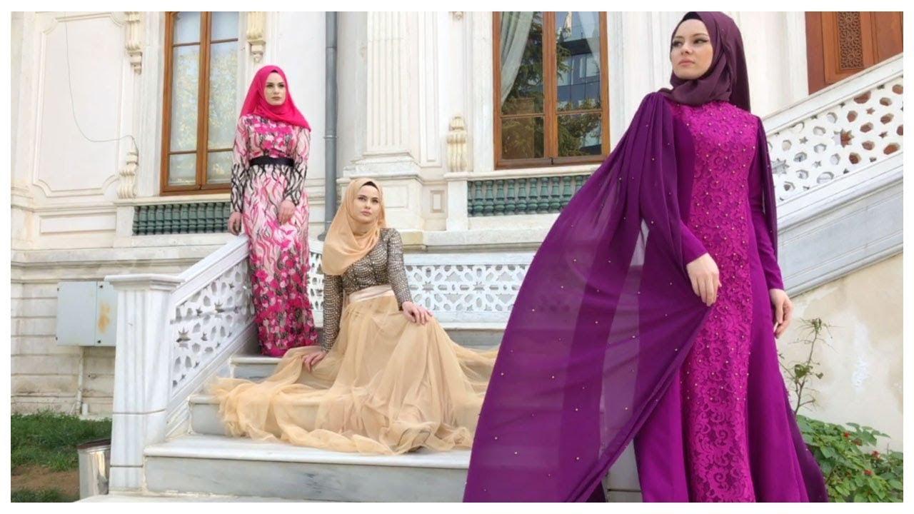 e857a875eedec Sefamerve 2018 Modest Evening Dress Collection