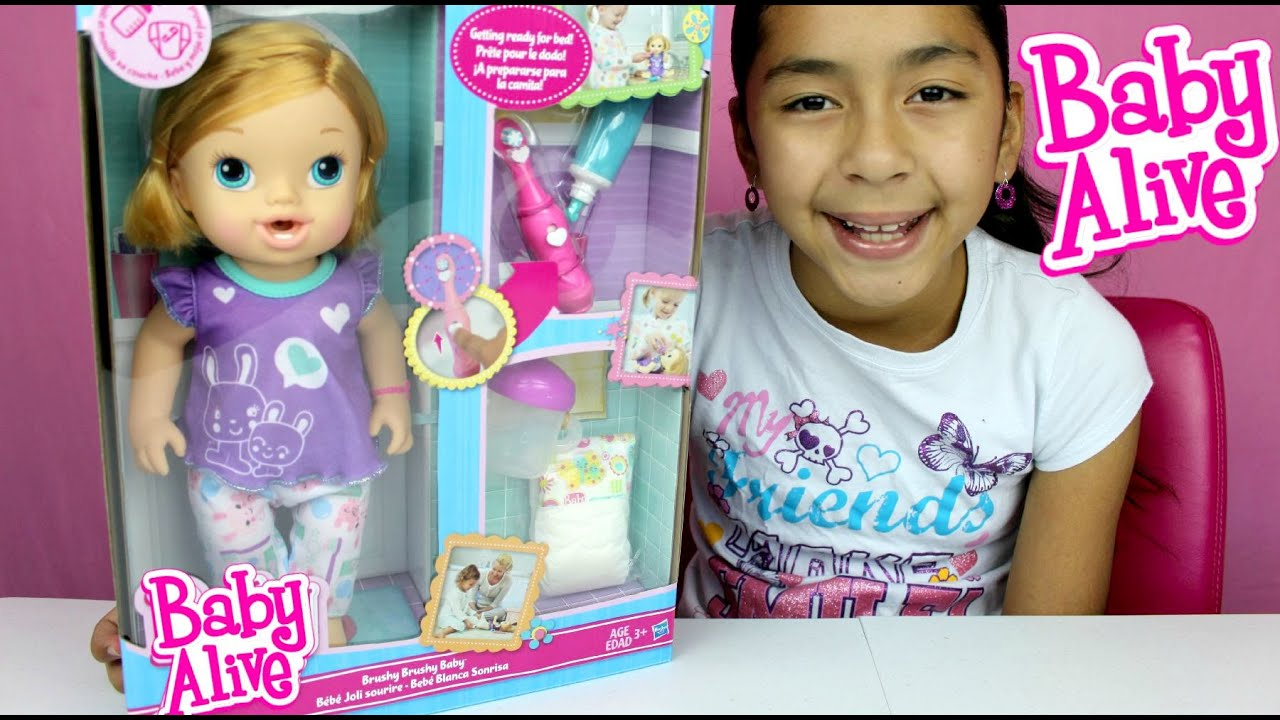 Baby Alive Interactive Doll Brushy Brushy Baby Doll Review