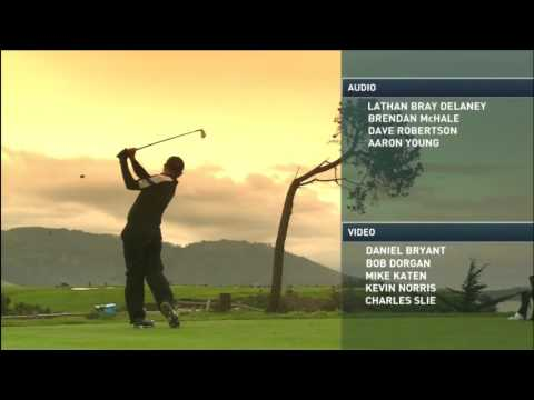 2017 CBS - AT&T Pebble Beach Pro-Am Ending