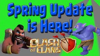 Clash of Clans - Spring Update is Here! New Air Defense? + Live LavaLoonion Raid! CoC