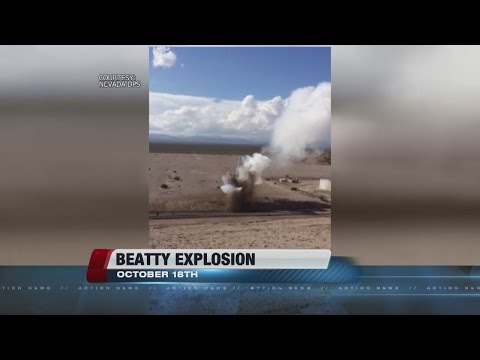 Seeping water caused radioactive dump blast