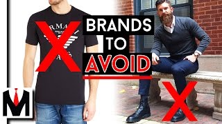 5 POPULAR CLOTHING BRANDS THAT ARE OVERPRICED | Brands I Dislike And You Should Avoid