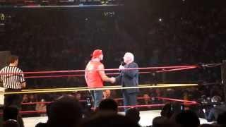 Video Ric Flair emotional speech to Hulk Hogan about his sons death download MP3, 3GP, MP4, WEBM, AVI, FLV November 2017