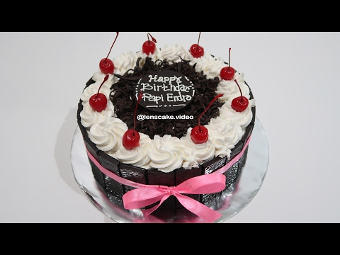 Black Forest Cake How To Make Birthday Cake Chocolate At