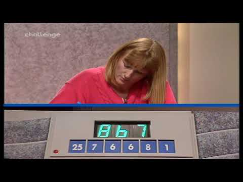 Countdown  Series 22 Episode 1  1st July 1991