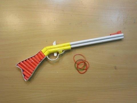 How To Make A Paper Gun That Shoots 1860 Henry Assault Rifle