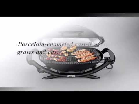 Weber Elektrogrill Q 2400 Test : Weber 55020001 q 2400 electric grill review youtube