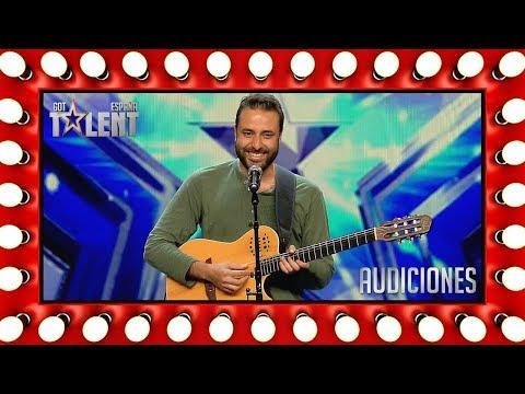 Este cantautor deja atónito al jurado con su 'playback' | Audiciones 7 | Got Talent España 2018