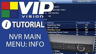 VIP Vision Pro 24CH 12MP (320Mbps) H.265 PoE IP Recorder No-HDD NVR24PRO6 video