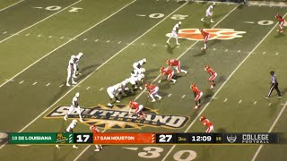 NCAAF 2021 Week 22 SE Louisiana vs Sam Houston State