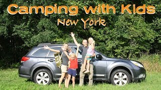 CAMPING WITH KIDS: What NOT to do \\ New York- Adventure 13
