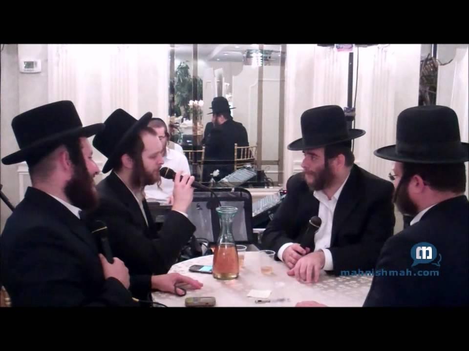 Chilu Posen & Hamezamrim Sing 'Al Tiktsof Hashem' At Bar Mitzvah