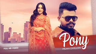 Pony Arjan Dhillon Free MP3 Song Download 320 Kbps