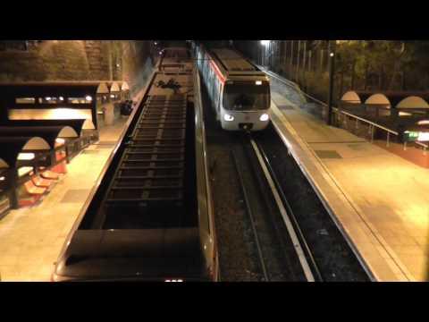 MCL80 : Station Croix Paquet sur la ligne C du métro de Lyon