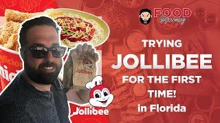 Jollibee Review  Filipino Fast Food  Spaghetti, Chickenjoy, Fries, Gravy  Pinellas Park, Florida