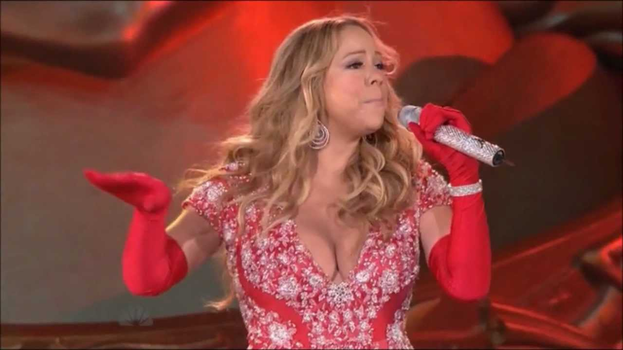 mariah carey all i want for christmas is you christmas in rockefeller center youtube - Mariah Carey All I Want For Christmas Live