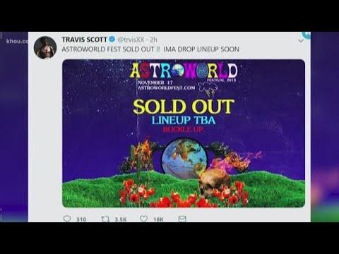 d23a2c96cd6f Rapper Travis Scott leaving Astroworld Festival tickets at polling locations