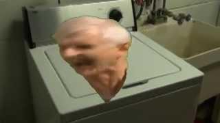 Rabid Ray Grayham jamming with Death Metal Washing Machine