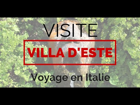 Visiter La Villa Este Et Ses Jardins A Tivoli Voyage En Italie Pres De Rome