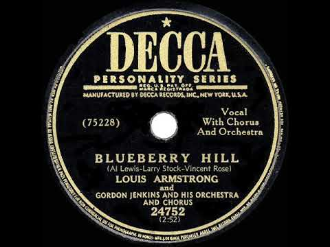 1949 HITS ARCHIVE: Blueberry Hill - Louis Armstrong & Gordon Jenkins